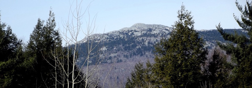 Monadnock State Park In the winter time