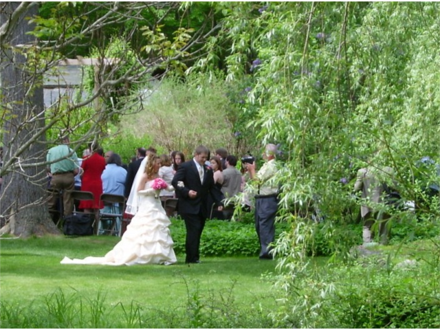 Willow Lawn Wedding in Spring