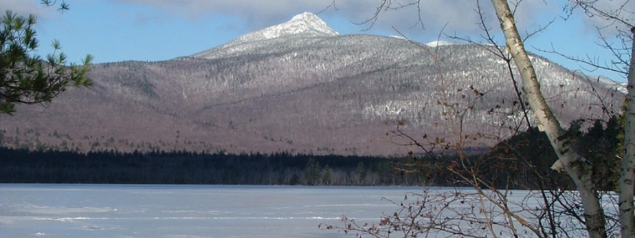 Image of Mount Chocorua with a snow cap