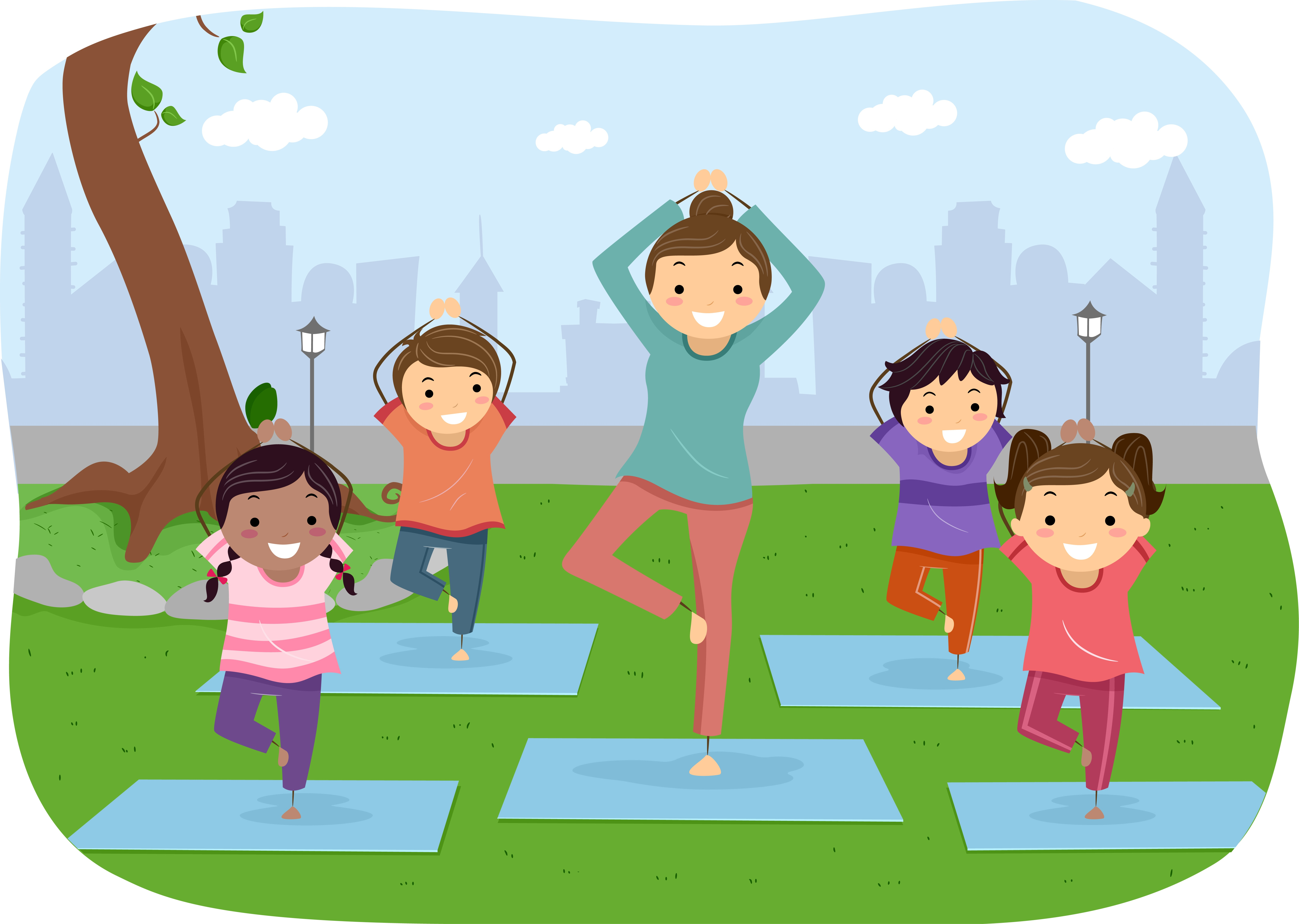 Yoga For Kids Poses For Partners Abc News