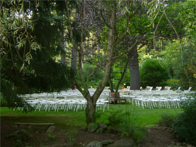 Willow Lawn set for 200 guests