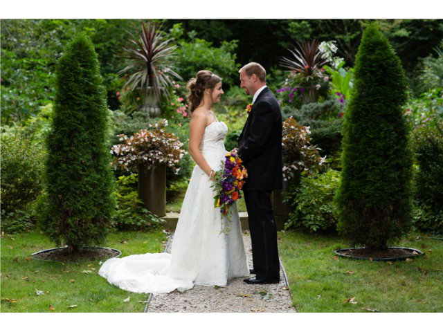 Formal Garden wedding - William T. Moore Photography