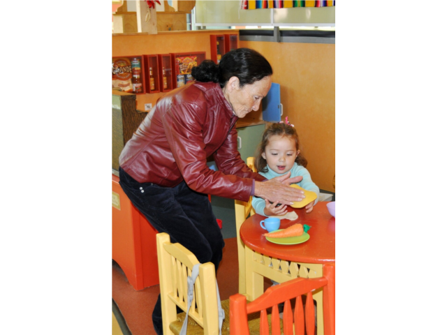 Meaningful family interaction is an important part of every Children's Museum visit!