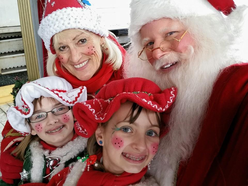 Ho-Ho-Ho... Santa Express Trains - Weekends from the Friday after Thanksgiving through just before Christmas each year! Santa and his Elves ride the train with us plus every child on the train gets a gift from Santa!  Reservations are strongly suggested.